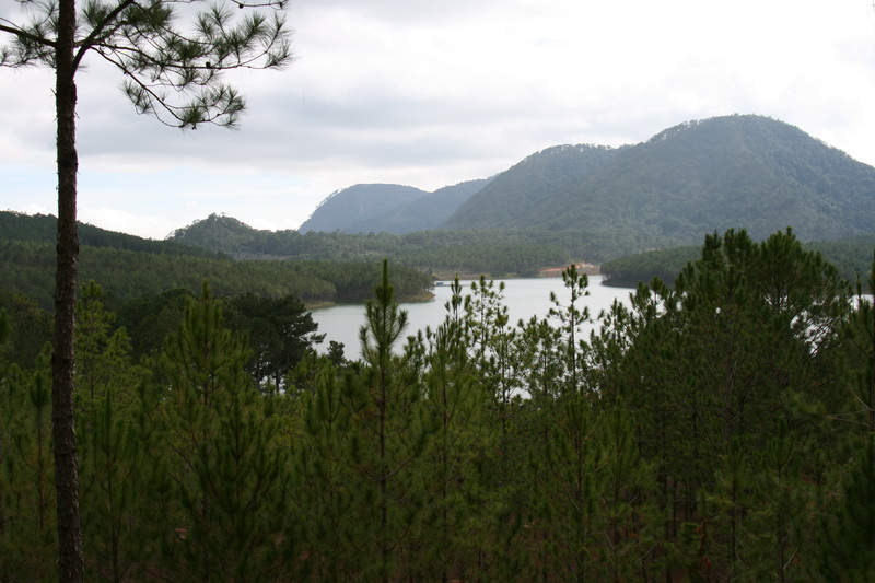 Lake im Reservoir